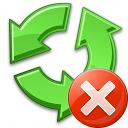 Recycle Error Icon 128x128