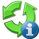 Recycle Information Icon 128x128
