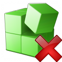 Registry Delete Icon 128x128
