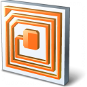 Rfid Chip Icon 128x128