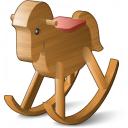 Rocking Horse Icon 128x128