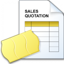 Sales Quotation Icon 128x128