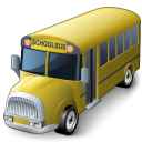 Schoolbus Icon 128x128