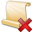 Scroll 2 Delete Icon 128x128