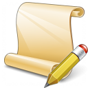 Scroll 2 Edit Icon 128x128