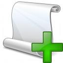 Scroll Add Icon 128x128
