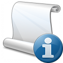 Scroll Information Icon 128x128