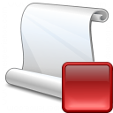 Scroll Stop Icon 128x128