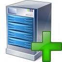 Server Add Icon 128x128