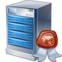 Server Certificate Icon 128x128