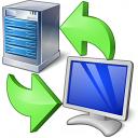 Server Client Exchange Icon 128x128