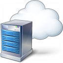 Server Cloud Icon 128x128