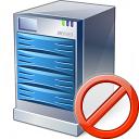 Server Forbidden Icon 128x128