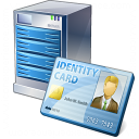 Server Id Card Icon 128x128