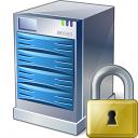 Server Lock Icon 128x128