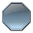 Shape Octagon Icon 128x128