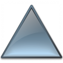 Shape Triangle Icon 128x128