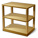 Shelf Empty Icon 128x128