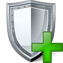 Shield Add Icon 128x128