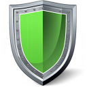 Shield Green Icon 128x128
