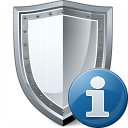 Shield Information Icon 128x128
