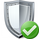 Shield Ok Icon 128x128
