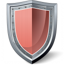 Shield Red Icon 128x128