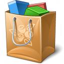 Shopping Bag Icon 128x128