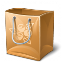 Shopping Bag Empty Icon 128x128