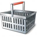 Shopping Basket Empty Icon 128x128