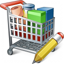 Shopping Cart Edit Icon 128x128