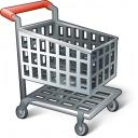 Shopping Cart Empty Icon 128x128