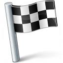 Signal Flag Checkered Icon 128x128