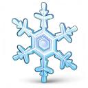 Snowflake Icon 128x128