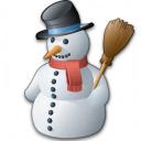 Snowman Icon 128x128