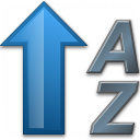 Sort Az Ascending 2 Icon 128x128