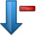 Sort Down Minus Icon 128x128