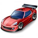 Sports Car Icon 128x128