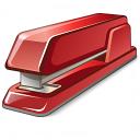 Stapler Red Icon 128x128