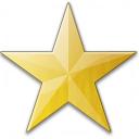 Star Yellow Icon 128x128