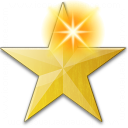 Star Yellow New Icon 128x128