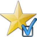 Star Yellow Preferences Icon 128x128