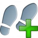 Step Add Icon 128x128