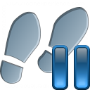 Step Pause Icon 128x128