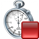 Stopwatch Stop Icon 128x128