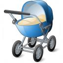 Stroller Icon 128x128