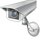 Surveillance Camera Icon 128x128