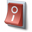 Switch Off Icon 128x128