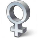 Symbol Female Icon 128x128