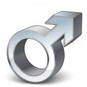 Symbol Male Icon 128x128